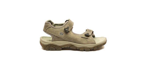 Pánské šedobéžové trekové sandály Numero Uno