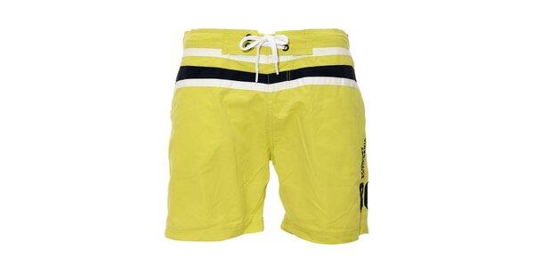 Pánské plavky v citronově žluté barvě značky Deeluxe