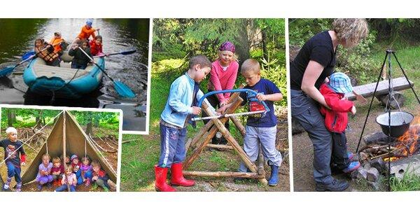 Prázdniny pro děti v lese u Šumavouse