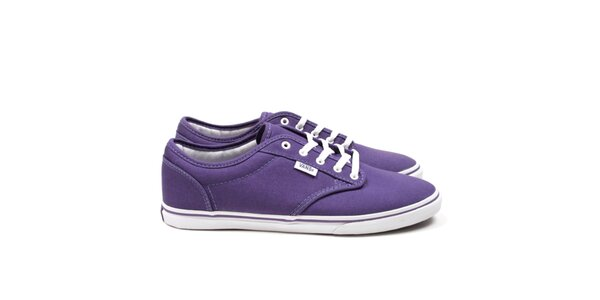 Dámské fialové tenisky Vans