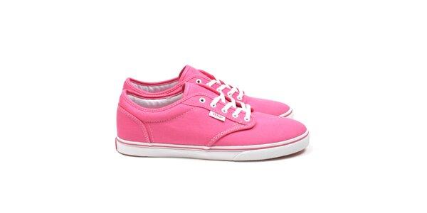 Dámské růžové tenisky Vans