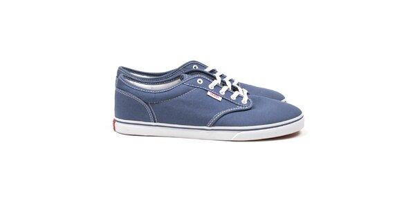 Dámské tmavě modré textilní boty Vans