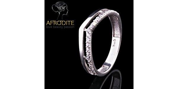 Dámský stříbrný prsten Afrodite