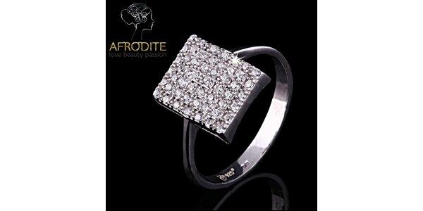 Dámský prsten s kubickými zirkony Afrodite