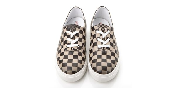 Pánské kostkované boty Elite Goby