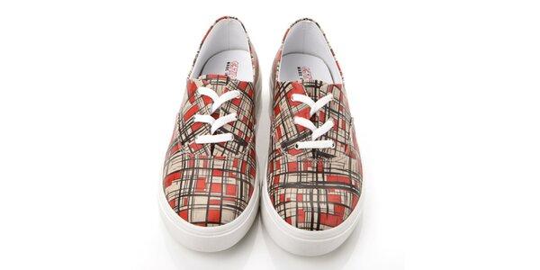 Pánské kostičkované boty Elite Goby