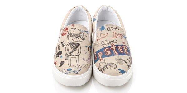 Pánské hipster loafers Elite Goby