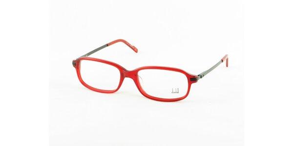 Dámské červené dioptrické obroučky Dunhill