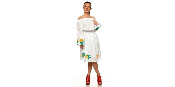 Dámské bílé šaty Joseph Alessander