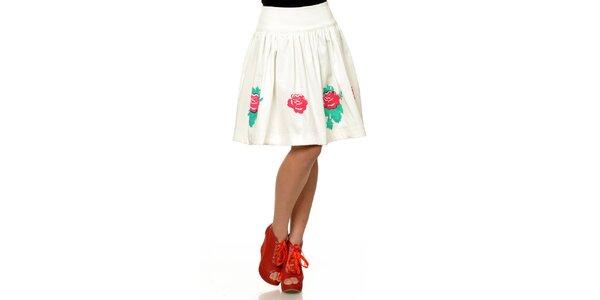 Dámská sukně s červenými růžemi Joseph Alessander