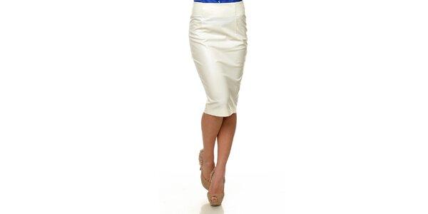 Dámská bílá koženková sukně Joseph Alessander