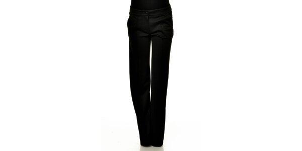 Dámské černé společenské kalhoty Joseph Alessander