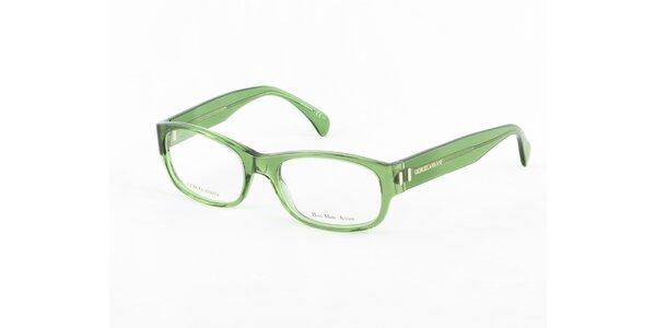 Dámské zelené dioptrické obroučky Giorgio Armani