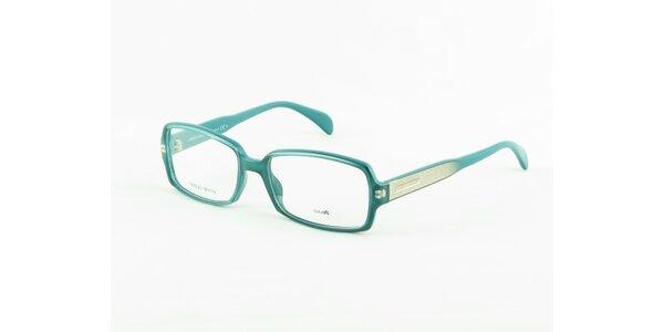 Dámské azurově modré dioptrické obroučky Giorgio Armani