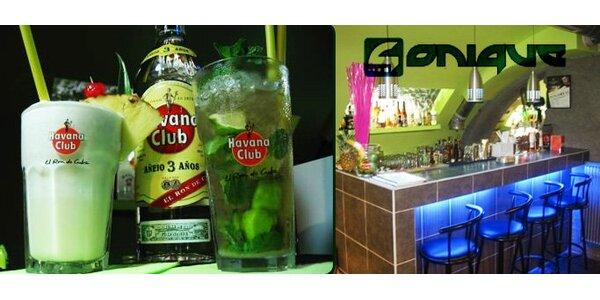 35 Kč za jeden míchaný nápoj ve vyhlášeném baru uprostřed Olomouce.