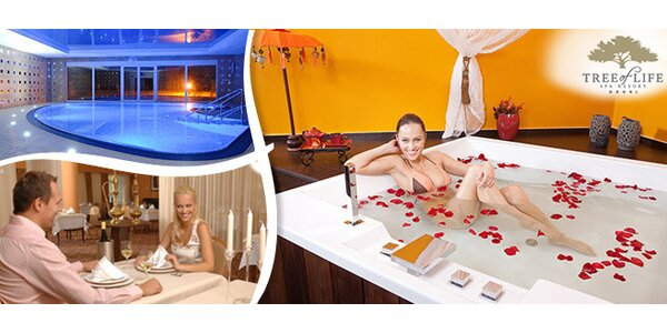 3 dny pro dva v luxusním Spa resortu Tree of Life****