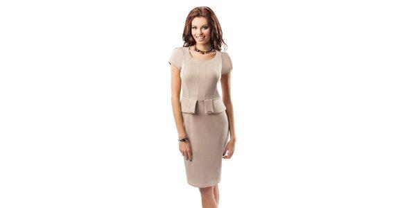 Dámské stylové šaty s volánkem Enny