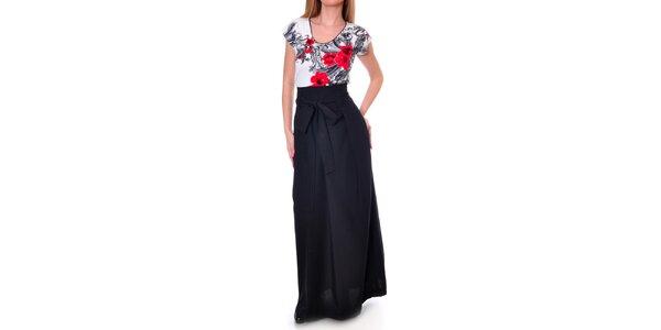 Dámká dlouhá černá sukně Daka
