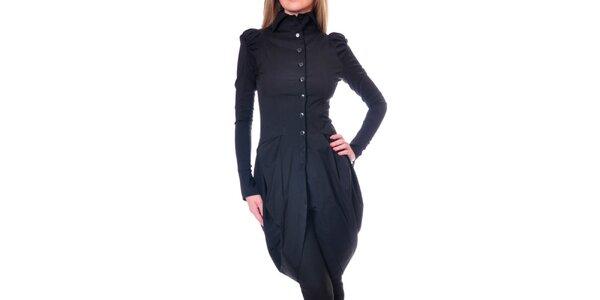 Dámský černý kabátek Daka