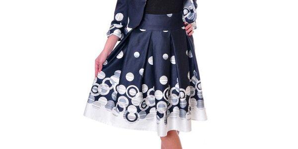 Dámská tmavě modrá sukně Daka