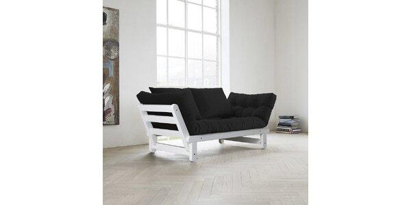 Rozkládací sofa KARUP BEAT FSC WHITE/GRAY