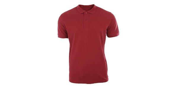 Pánské červené polo tričko Timeout