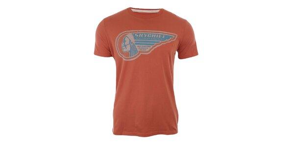 Pánské tričko s krátkým rukávem a indiánem Timeout
