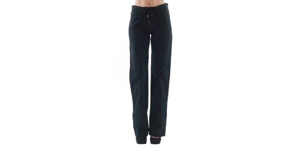 Dámské rovné černé kalhoty Fornarina