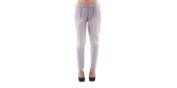 Dámské světle fialové džínové kalhoty Fornarina