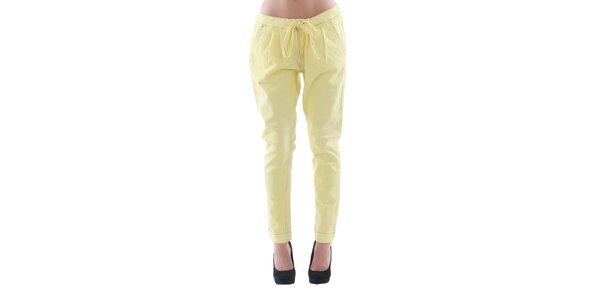 Dámské žluté džínové kalhoty Fornarina