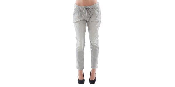 Dámské šedé džínové kalhoty Fornarina
