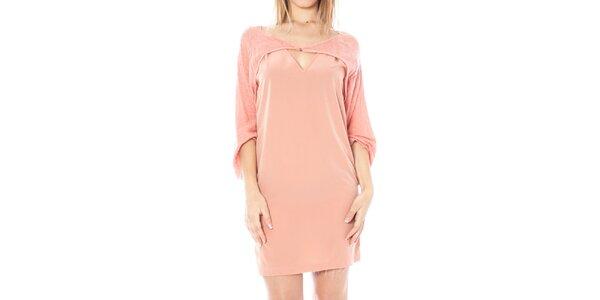 Dámské růžové šaty Nancy N.