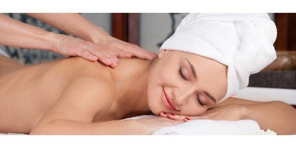 Hot Stone masáž nebo masáž proti celulitidě