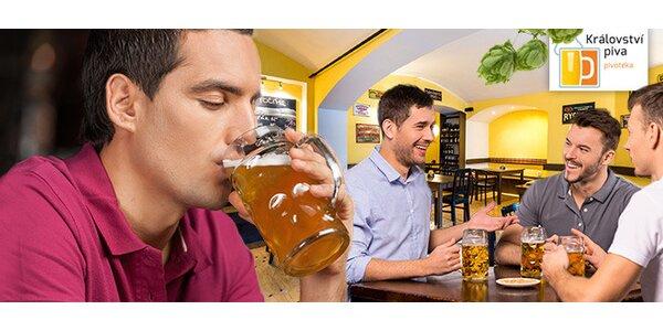 Neomezená konzumace piv v nové pivotéce Království piva