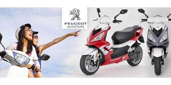 Půjčení sportovního skútru Peugeot Speedfight 3