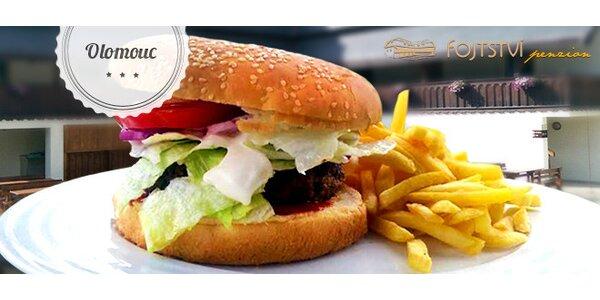 Sleva 40 % na hovězí burgery v restauraci Fojtství