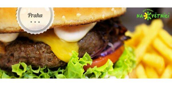 Sleva 40 % na Burger menu Květnice
