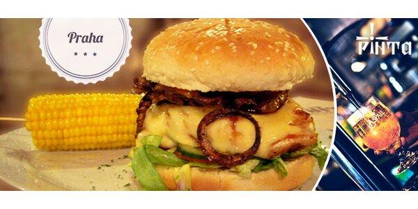 Sleva 40 % na XXXL hovězí či XXL kuřecí burger