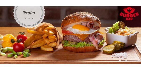 Sleva 40 % na burgery v Burger Baru (Dolce Villa Hotel)