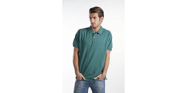 Lahvově zelené polo tričko Toro