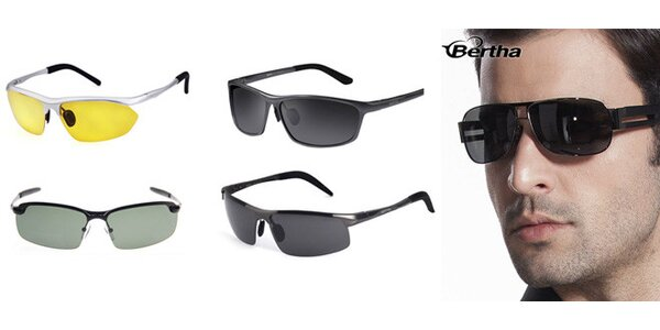Polarizační sluneční brýle BERTHA včetně dopravy