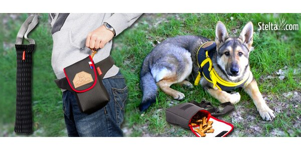 Sada hraček k výcviku psa a ochranný postroj