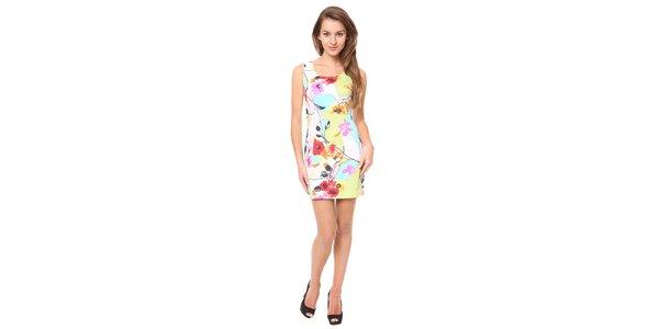 Dámské barevné květinové šaty Moda Prym
