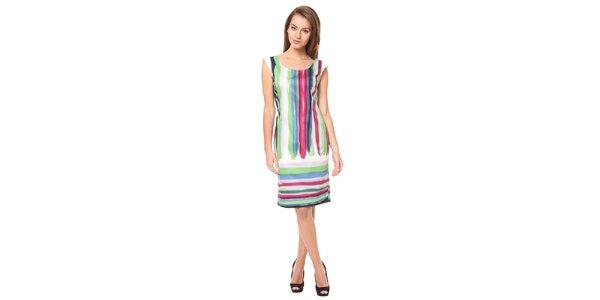 Dámské pestrobarevné šaty Moda Prym