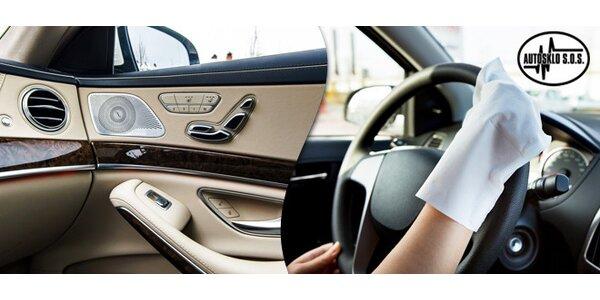 Kompletní očista interiéru vašeho vozu