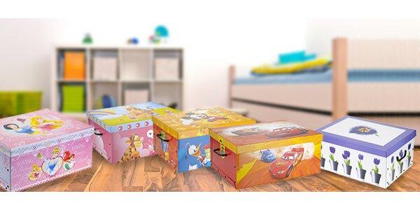 Sady úložných krabic na nezbytnosti (2–4 ks)