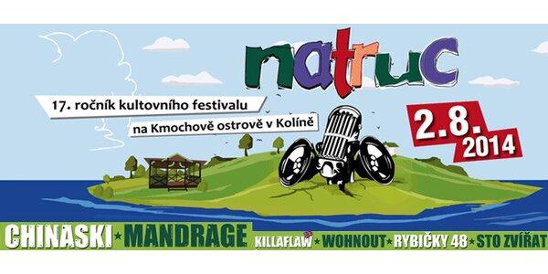 NATRUC - festival uprostřed řeky Labe