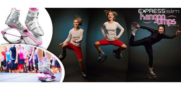 1 nebo 10 lekcí nového cvičení Kangoo jumps