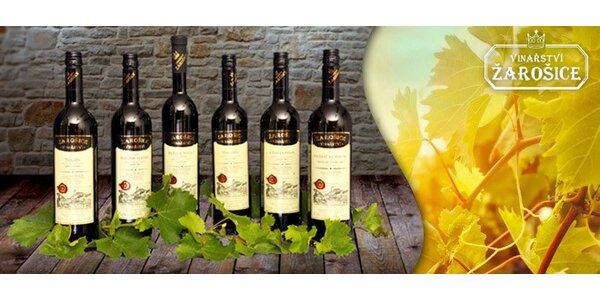 Kazeta 6 vín z vinařství Žarošice