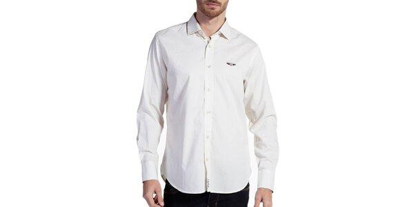 Pánská krémová košile Galvanni